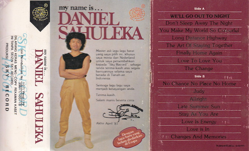 Daniel Sahuleka - We'll go out to night
