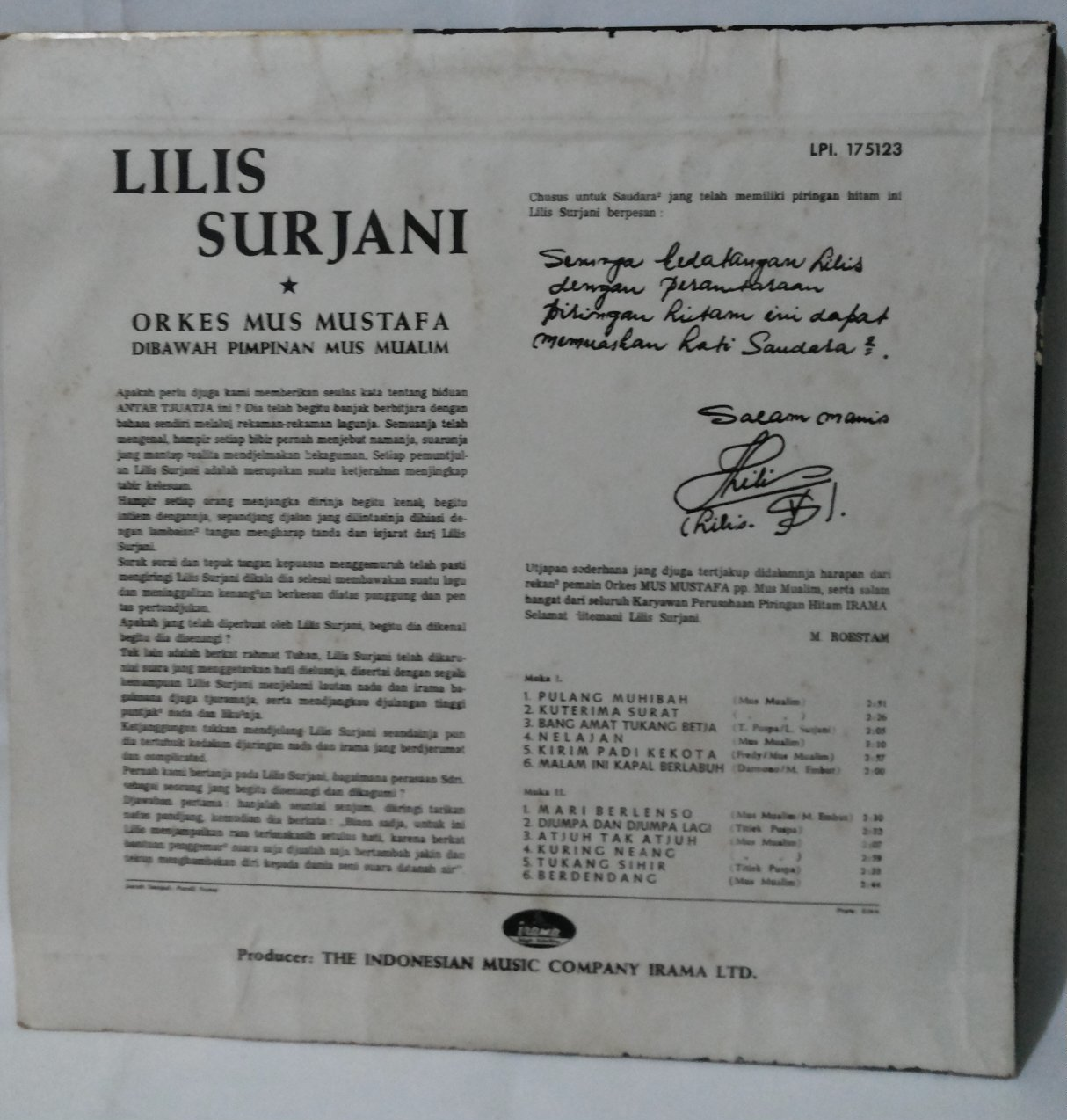 Lilis Surjani - Pulang Muhibah(2)
