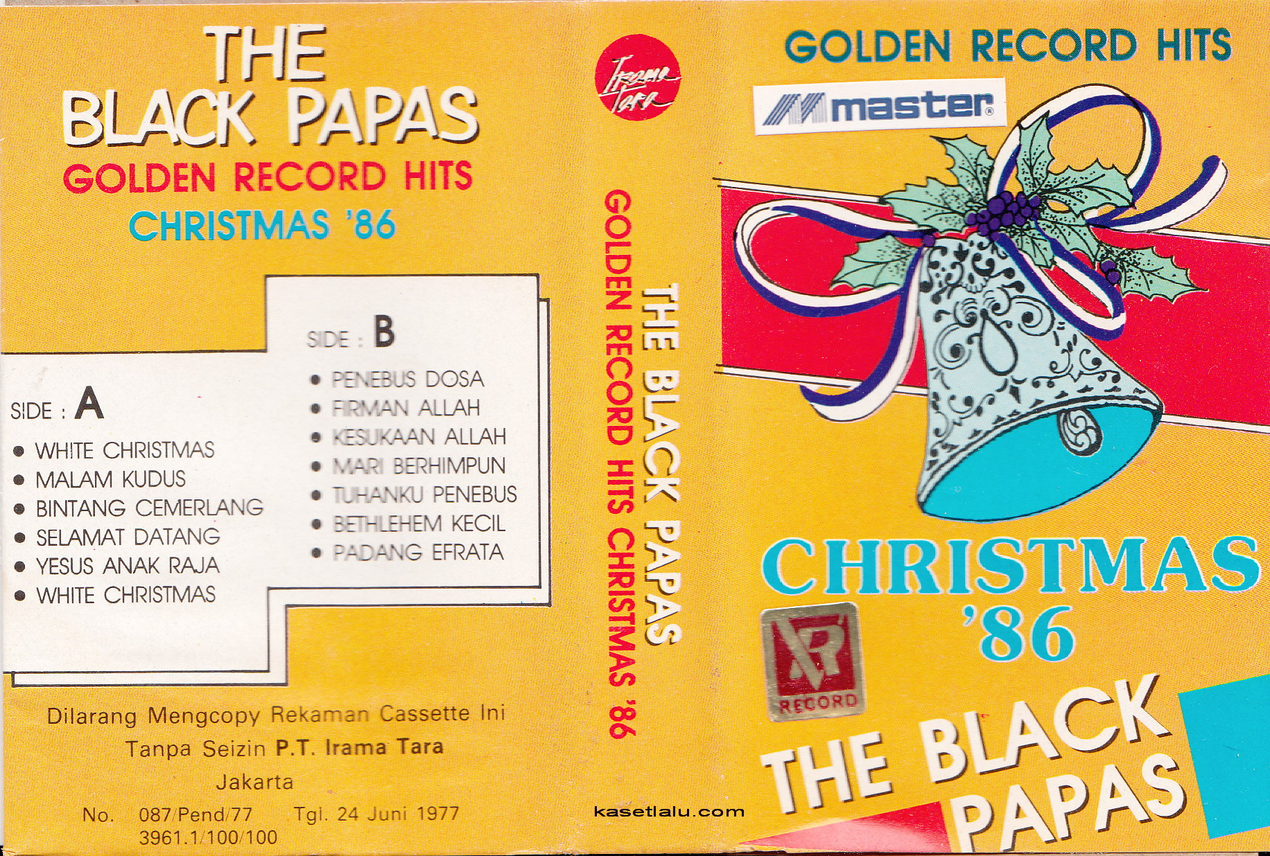 The Black Papas - Golden Record Hits Christmas 86