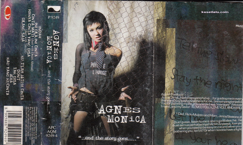 Agnes Monica - And The Story Goes