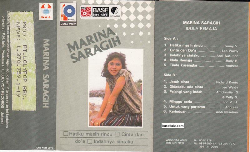 Marina Saragih - hatiku masih rindu