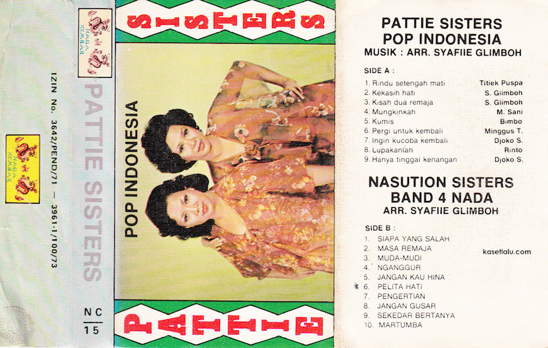 Pattie Sisters - Pop Indonesia