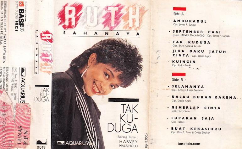 Ruth Sahanaya - Tak Kuduga