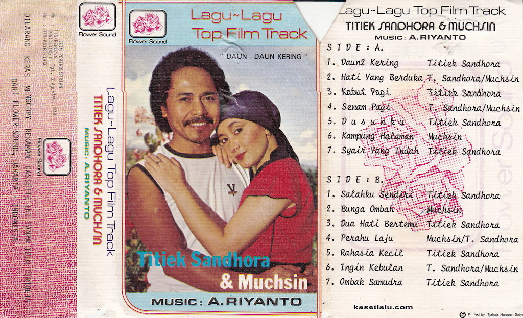 TitiekSandhora & Muchsin - LAgu Lagu Top film Track
