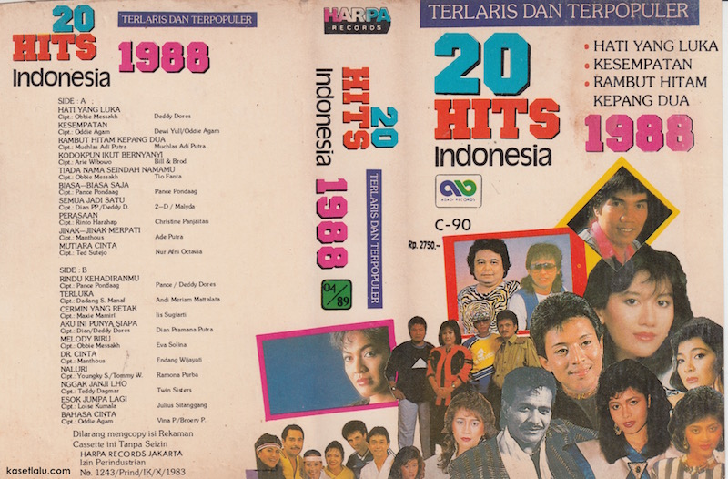 20 HITS INDONESIA 1988