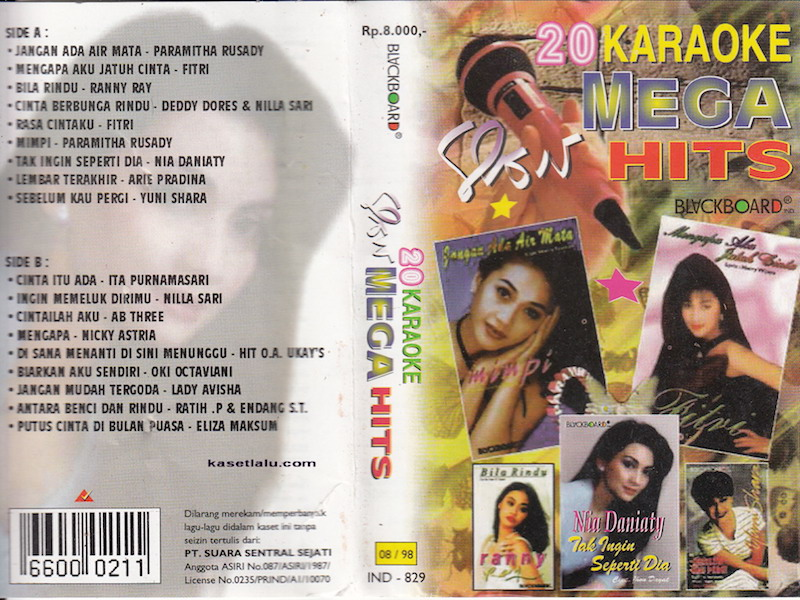 20 Karaoke slow mega hits