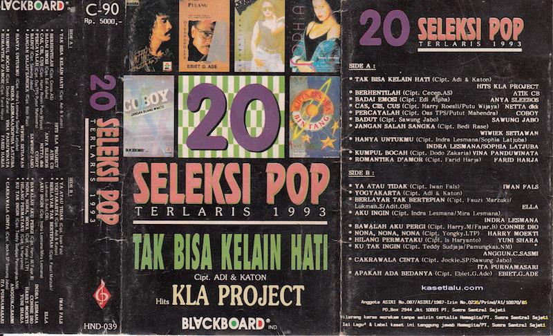 20 Seleksi Pop Terlaris 1993