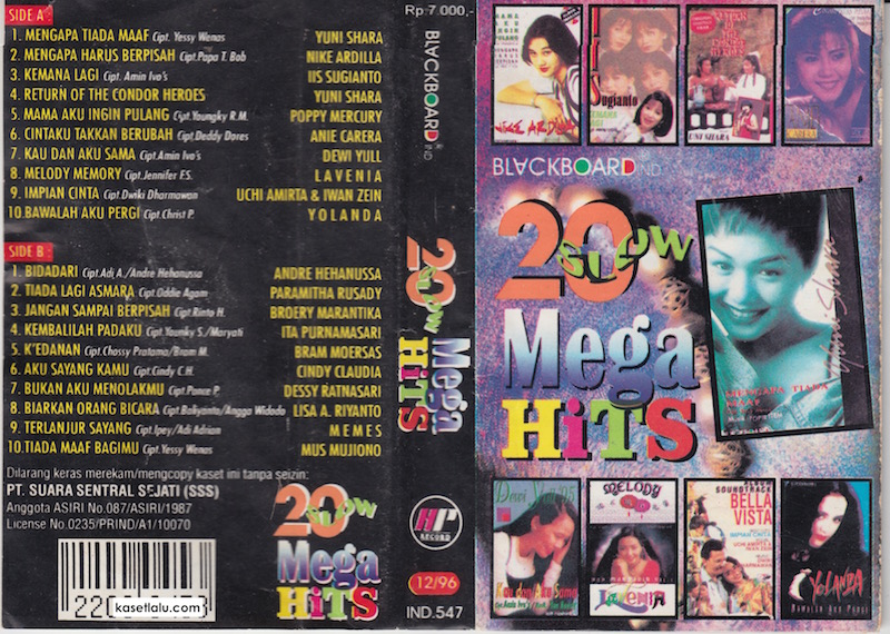 20 Slow Mega Hits