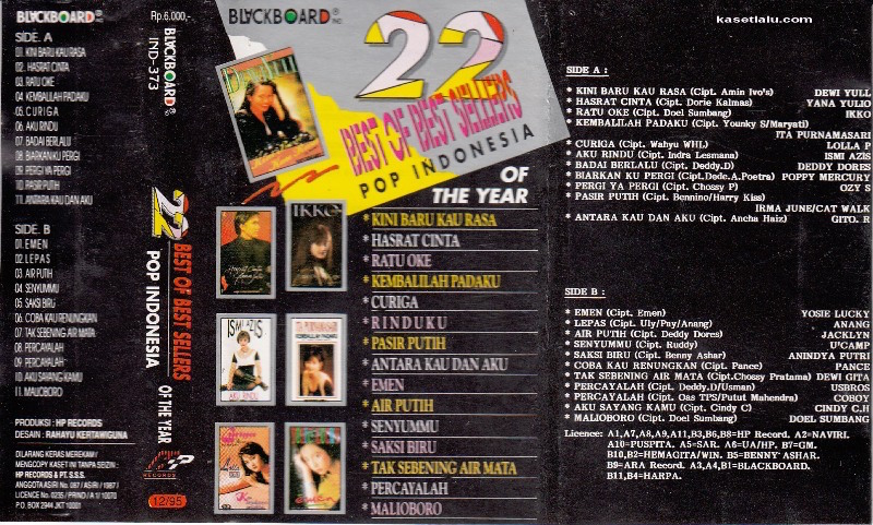 22 Best Of Best Sellers Pop Indonesia