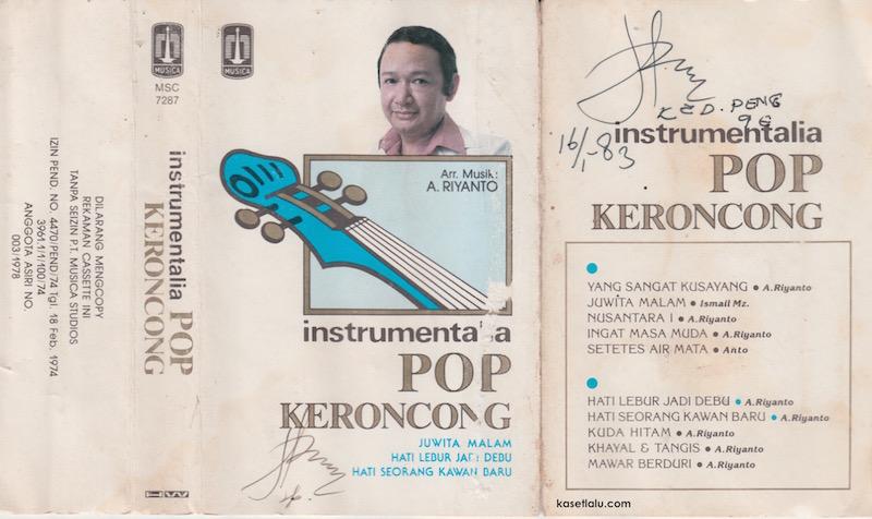 A. Riyanto - Instrumentalia Pop Keroncong