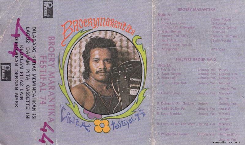 Broery Marantika - Cinta Festifal 74