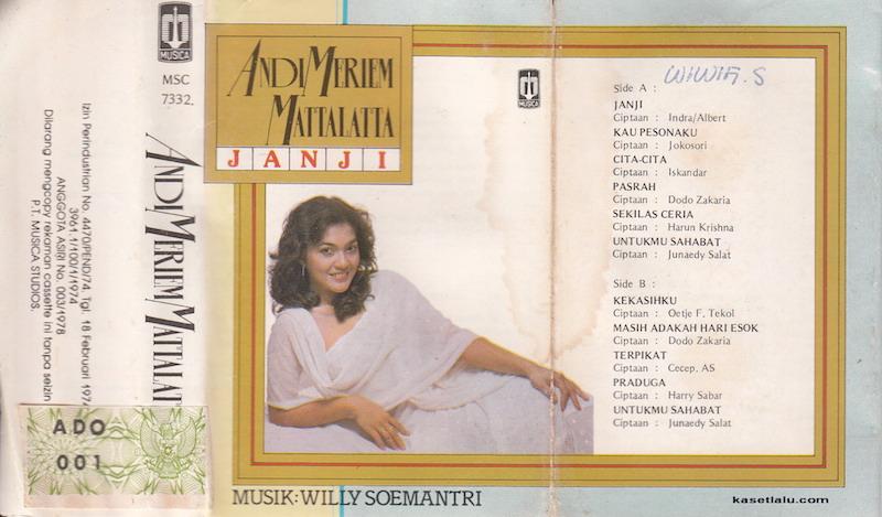Andi Meriem Mattalatta - Janji