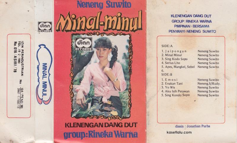 NENENG SUWITO - MINAL MINUL (GROUP RINEKA WARNA) - KLENENGAN DANGDUT
