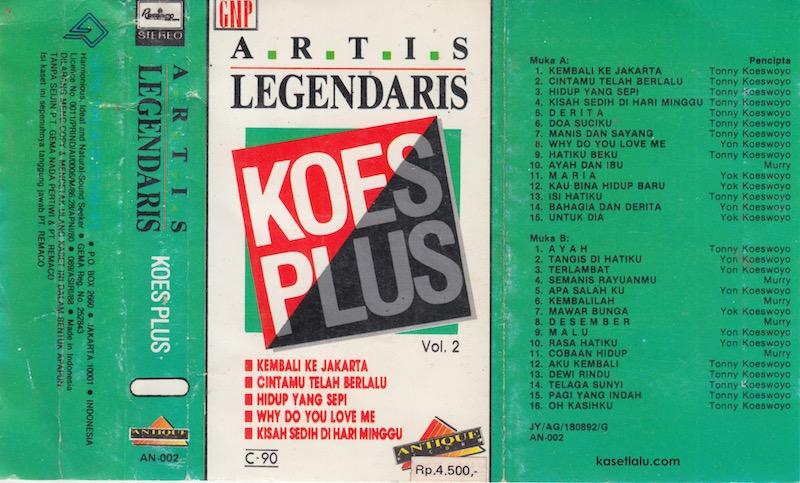 KOES PLUS - ARTIS LEGENDARIS VOL. 2