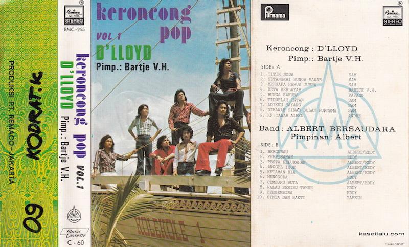 D'lloyd - Keroncong pop vol. 1