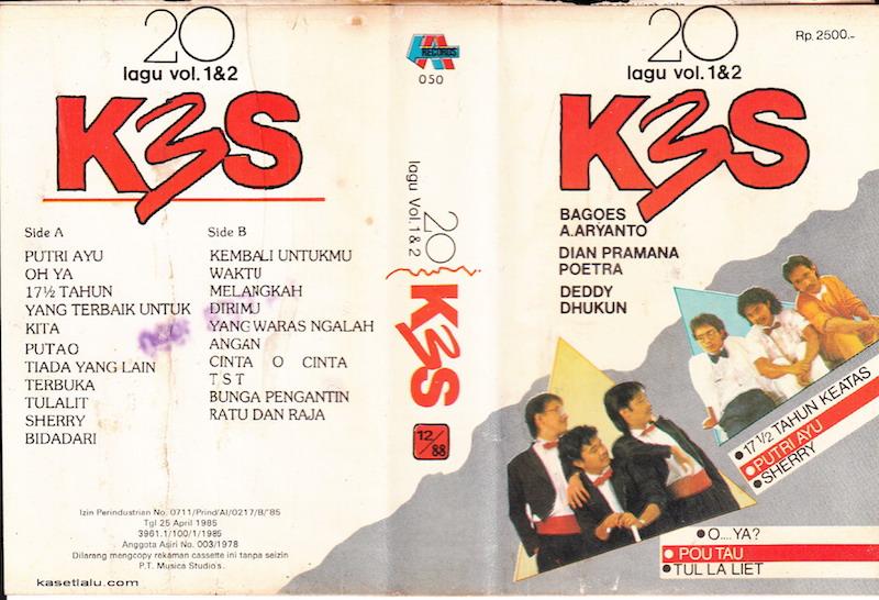 K3S - 20 lagu vol. 1&2