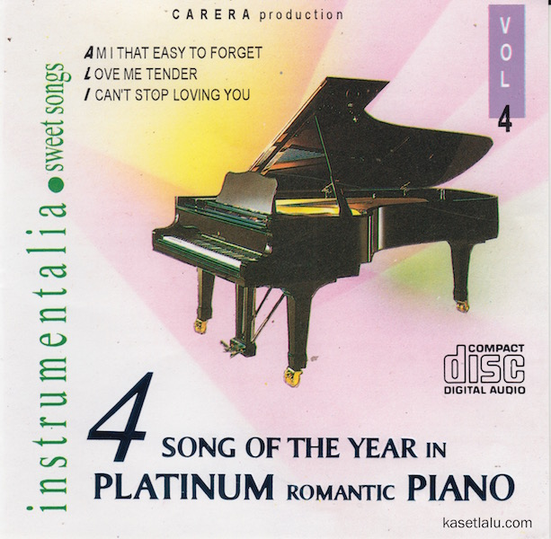 CD - INSTRUMENTALIA SWEET SONGS (SONG OF THE YEAR IN PLATINUM ROMANTIC PIANO VOLUME 4)