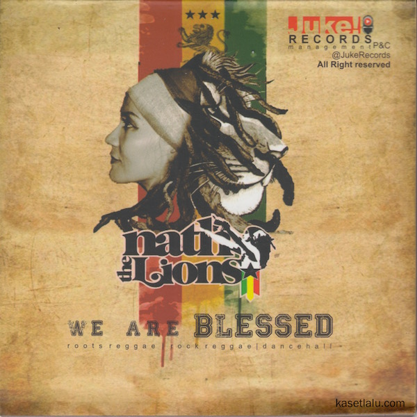 CD - NATH THE LIONS - WE ARE BLESSED
