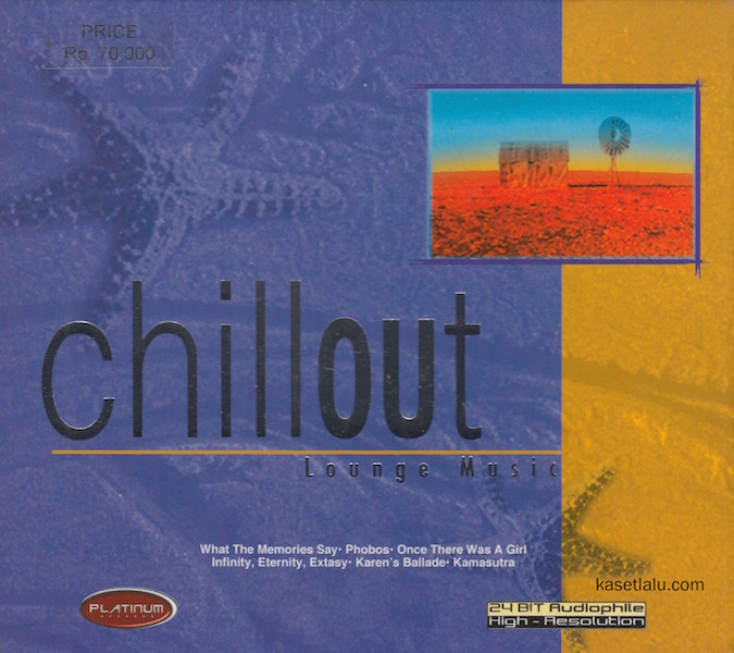 CD - CHILLOUT - LOUNGE MUSIC