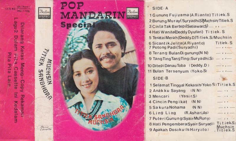 TITIEK SANDHORA & MUCHSIN - POP MANDARIN SPECIAL
