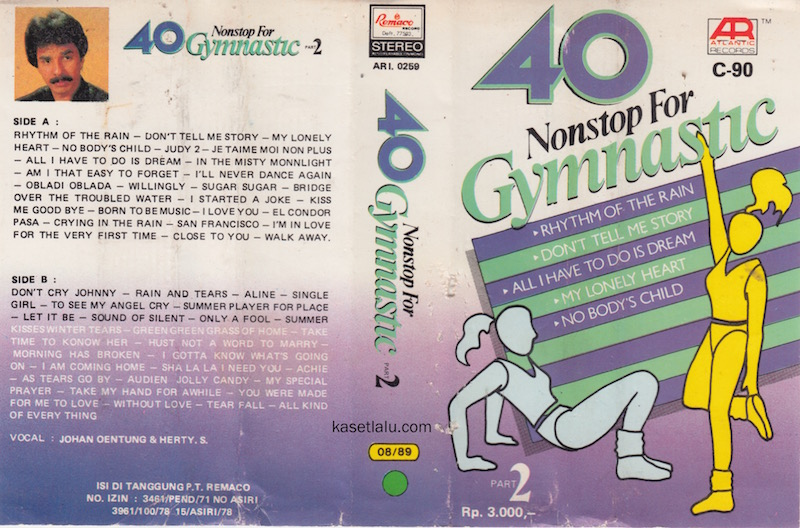40 NONSTOP FOR GYMNASTIC PART. 2 - VOCAL JOHAN UNTUNG & HERTY S