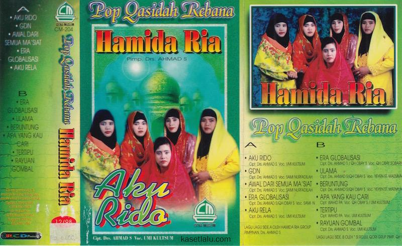 HAMIDA RIA - POP QASIDAH REBANA - AKU RIDO
