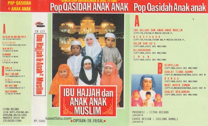POP QASIDAH ANAK ANAK - IBU HAJJAH DAN ANAK ANAK MUSLIM