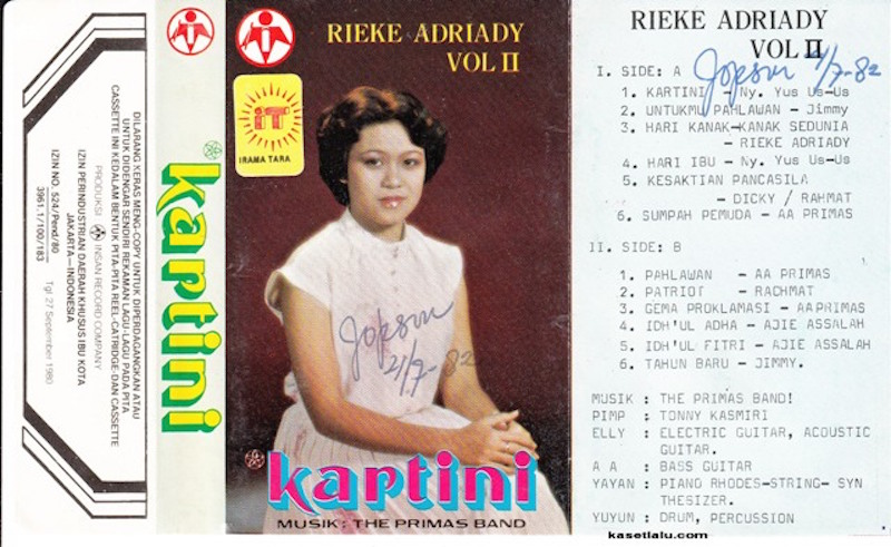 Rieke Adriady - Vol. II Kartini