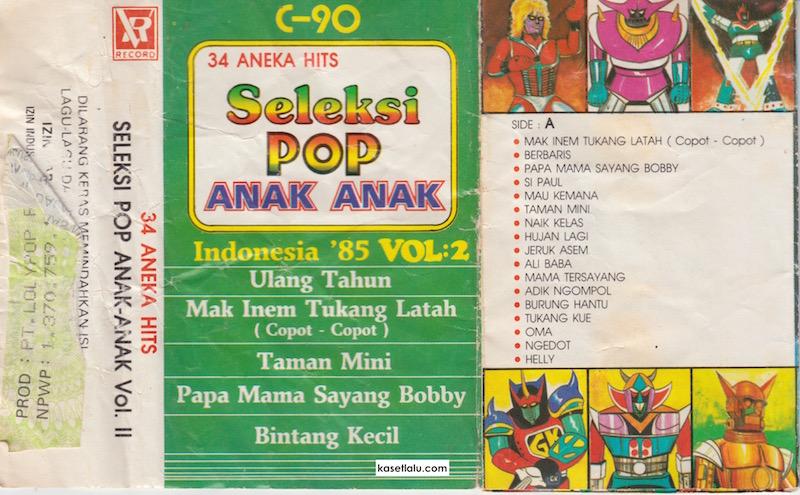 Seleksi Pop Anak anak Indonesia 85 Vol. 2