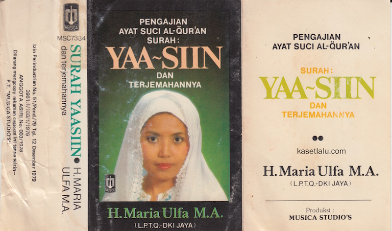 H. MARIA ULFA M.A - PENGAJIAN AYAT SUCI AL QUR'AN YAA-SIIN