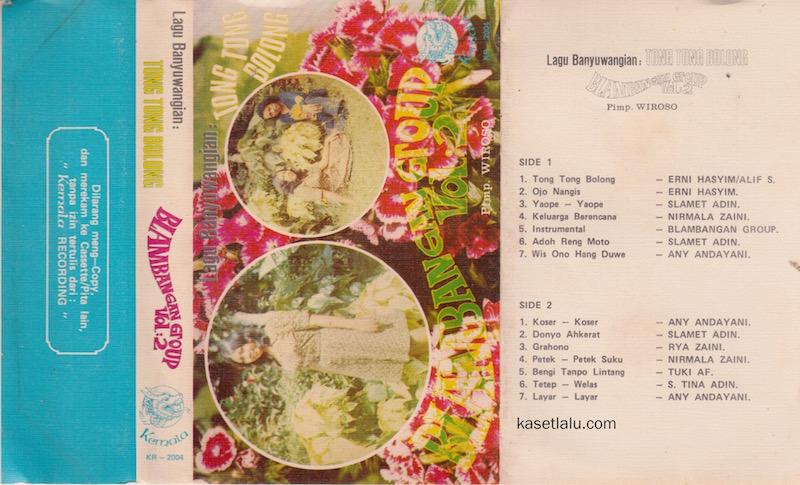 BLAMBANGAN GROUP - VOLUME 2 LAGU BANYUWANGIAN - TONG TONG BOLONG