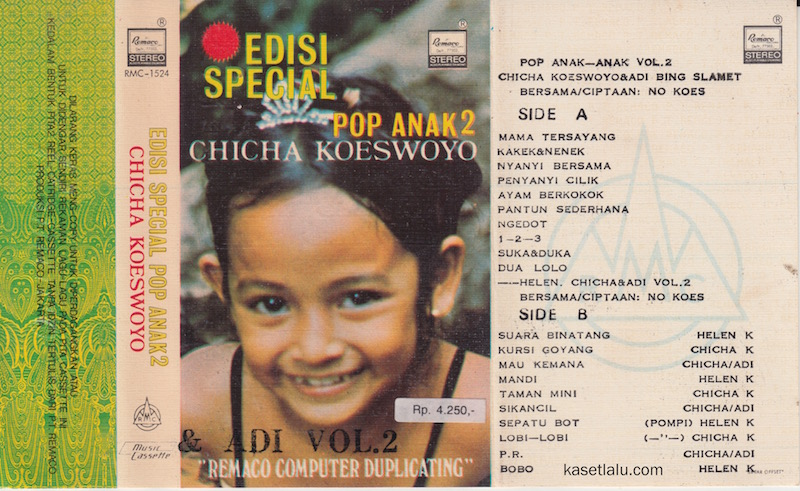 CHICHA KOESWOYO - EDISI SPECIAL POP ANAK ANAK