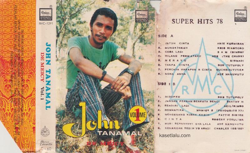 JOHN TANAMAL - VOLUME 1 SUPER HITS 78