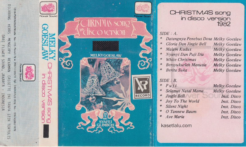 MELKY GOESLAW - CHRISTMAS SONG IN DISCO VERSION 1982