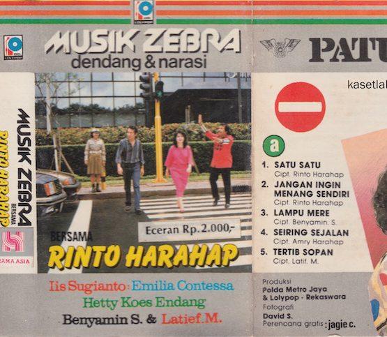 RINTO HARAHAP - MUSIK ZEBRA DENDANG & NARASI