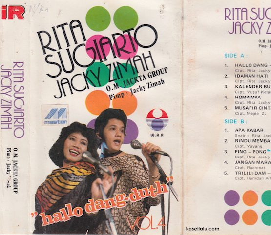 Rita & Jacky - Vol 4. Hallo Dangdut (O.M Jackta Group)