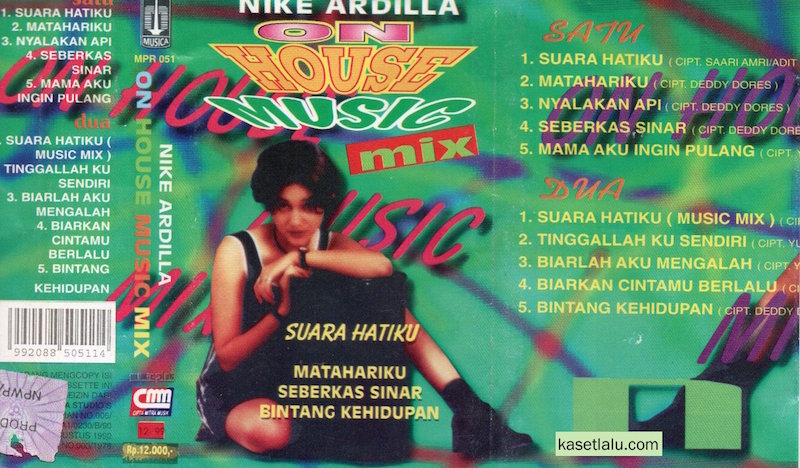 Nike ardila on house music mix suara hatiku kaset lalu for 80s house music mix