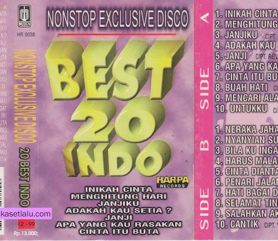 NONSTOP EXCLUSIVE DISCO - BEST 20 INDO