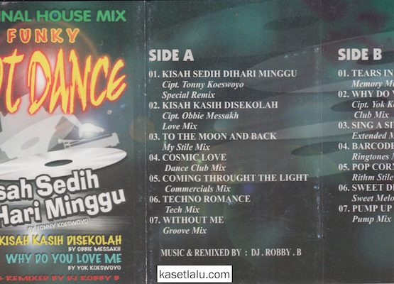 ORIGINAL HOUSE MIX FUNKY HOT DANCE - KISAH SEDIH DI HARI MINGGU