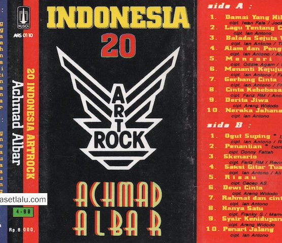 ACHMAD ALBAR - ART ROCK INDONESIA 20