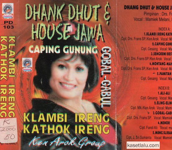 KEN AROK GROUP - DHANK DHUT & HOUSE JAWA - CAPING GUNUNG