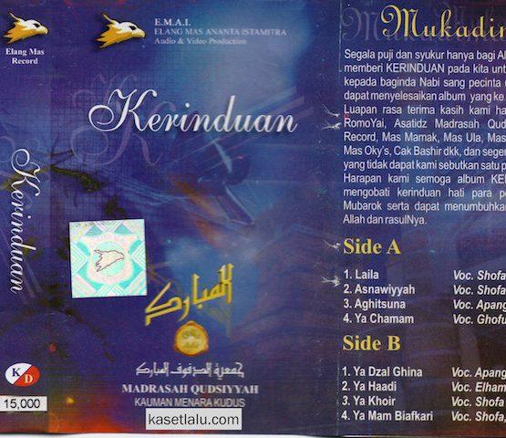 MADRASAH QUDSIYYAH (KAUMAN MENARA KUDUS)-KERINDUAN - LAILA