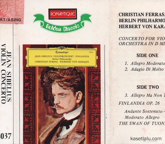 ROMANTIQUE GOLDEN CLASSIC 037 - JEAN SIBELIUS - VIOLIN CONCERTO