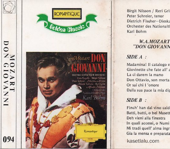 ROMANTIQUE GOLDEN CLASSIC 094 - MOZART - DON GIOVANNI