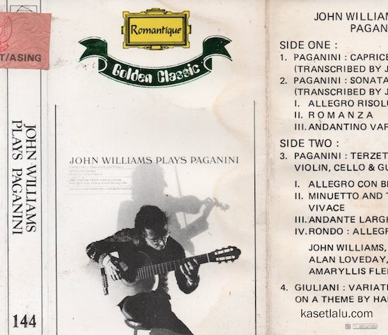 ROMANTIQUE GOLDEN CLASSIC 144 - JOHN WILLIAMS - PLAYS PAGANINI