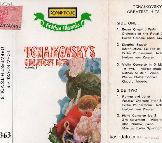 ROMANTIQUE GOLDEN CLASSIC 363 - TCHAIKOVSKY'S - GREATEST HITS VOL. 3