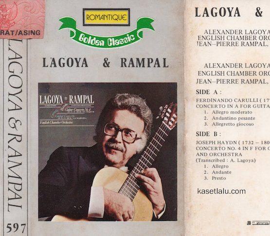 ROMANTIQUE GOLDEN CLASSIC 597 - LAGOYA & RAMPAL