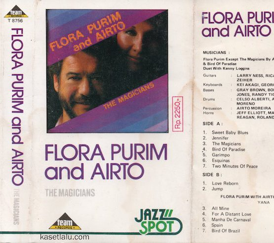 TEAM T8756 - FLORA PURIM & AIRTO - THE MAGICIANS