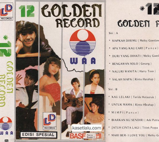 12 GOLDEN RECORD