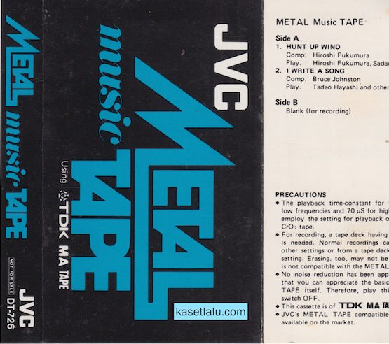 JVC METAL MUSIC TAPE